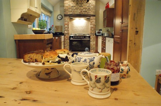 The Gables B&B Hadleigh: Afternoon Tea & Cakes For Our Guests