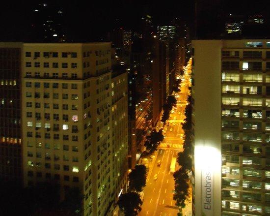 Windsor Guanabara Hotel: Vista da Cobertura do Hotel, Visão Avenida Rio Branco