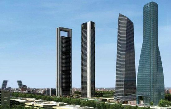 Eurostars Madrid Tower: second on the left