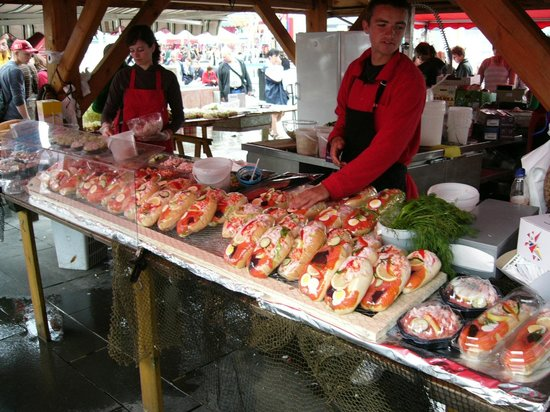NORWAY - Bergen - Fish Market