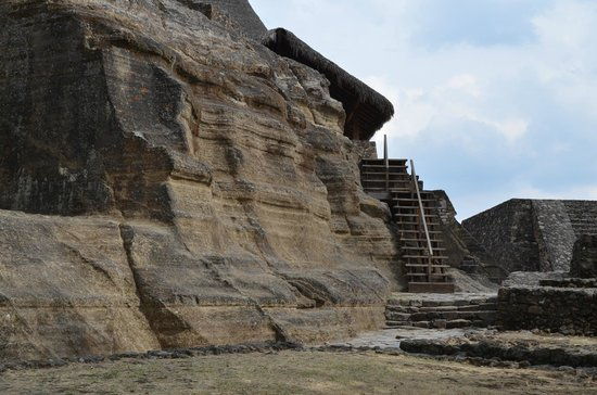 Templo Caucalli : First site as you arrive at the top of the mountain