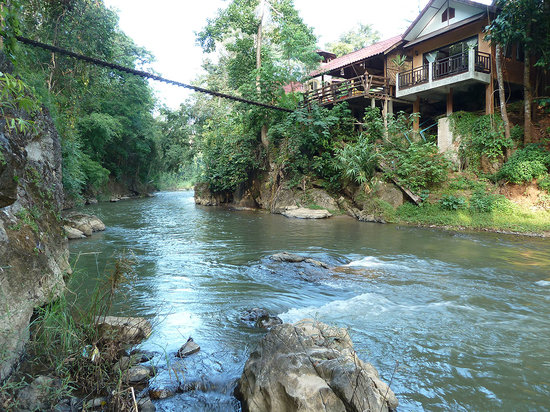 Soppong, Tailandia: Riverside House and Nam Lang River