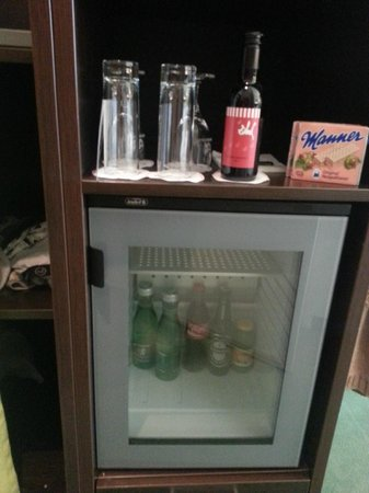 Rainers Hotel Vienna: Gratis Minibar!!!