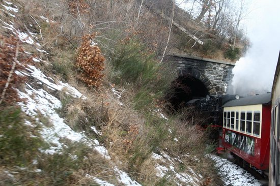 Harzer Schmalspurbahnen: Tunnelfahrt 9