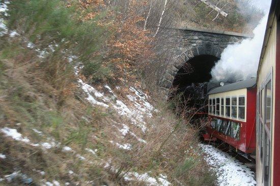 Harzer Schmalspurbahnen: Tunnelfahrt