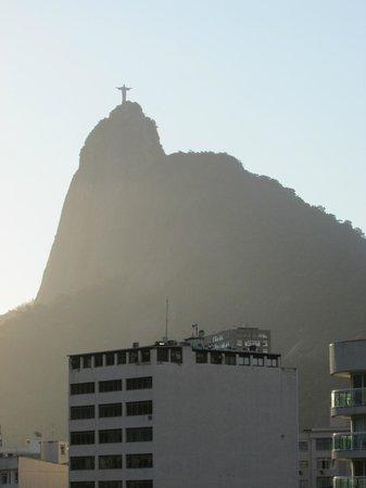 Mercure Botafogo Mourisco : Corcovado visto pela janela do quarto