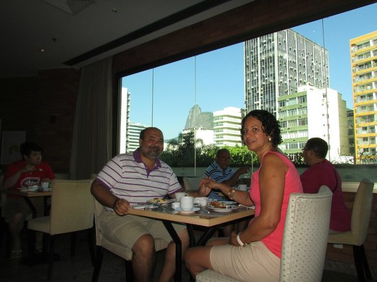 Mercure Botafogo Mourisco : Café da manhã com vista para o Cristo