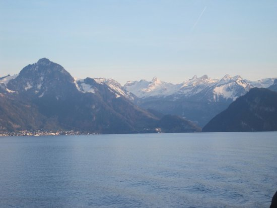 Lake Luzern : view from lake when on cruise