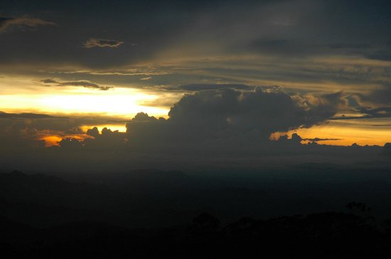 Zomba Forest Lodge: Sunset after Evening Showers