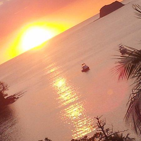 Hotel Guanamar: vista del atardecer desde la habitacion