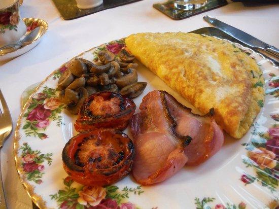 Fern Cottage Bed & Breakfast: Omlette