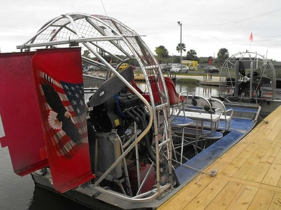 Wooten's Everglades Airboat Tour: The airboat