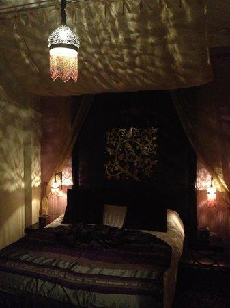 Ryad Amiran & SPA : Our beautiful Amethyst room :)