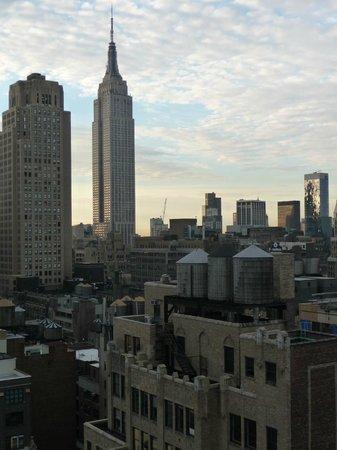 Element New York Times Square West: vue depuis notre chambre! au 36 ème étage