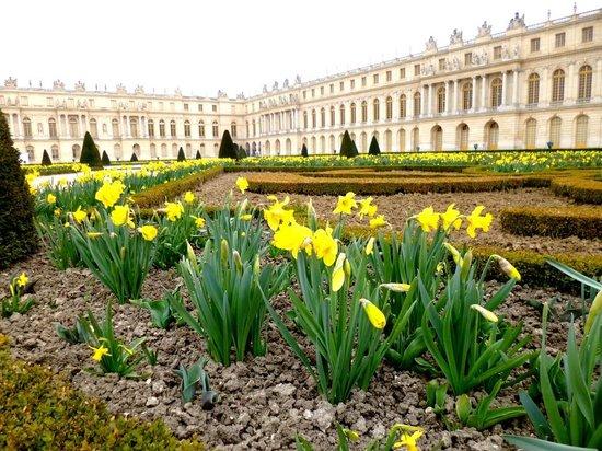 Palacio de Versalles: Palácio de Versalhes - França - Abril/2013 - Foto Sayuri Murakami.