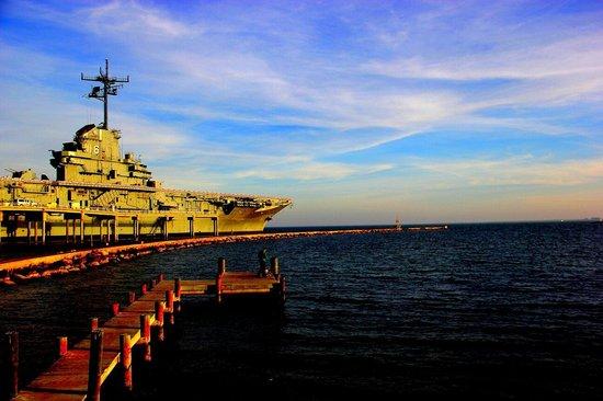 USS LEXINGTON: Dec 3, 2013 pic by Martha Avila