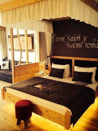 ABINEA Dolomiti Romantic SPA Hotel: Camera Romantic