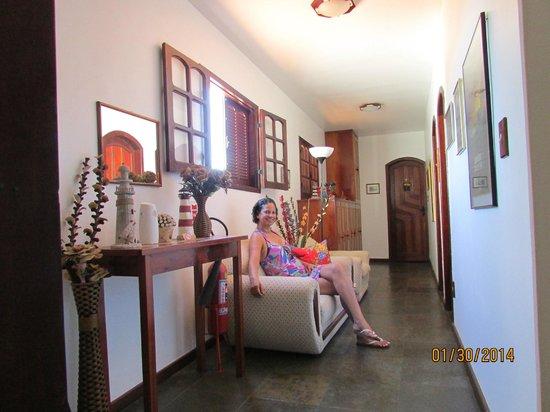 Pousada Farol de Saquarema: vista interna