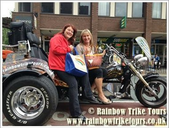 Rainbow Trike Tours: Chester City Tour