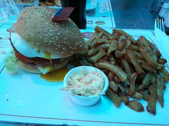Little Rock Diner : Cowboy Burger