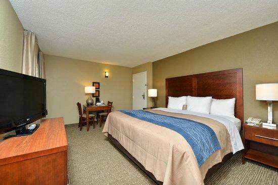 Comfort Inn Elizabeth City: King Guest Room