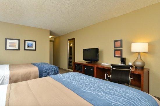 Comfort Inn Elizabeth City: Queen/ Queen Guest Room