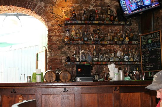 Greengos Caribbean Cantina : The selection of tequilas