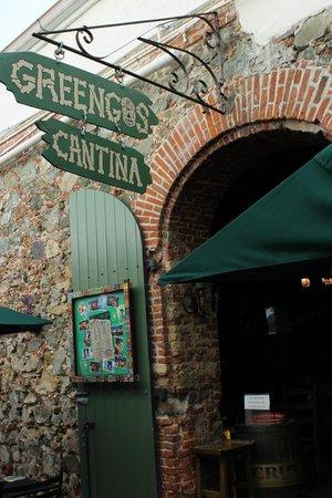 Greengos Caribbean Cantina : The entrance