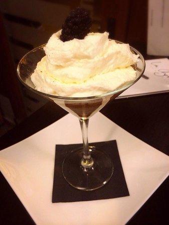 La Azotea : Mouse de arroz con leche con gelatina de ama retro