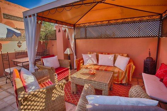 Riad Alena : Salon terrasse