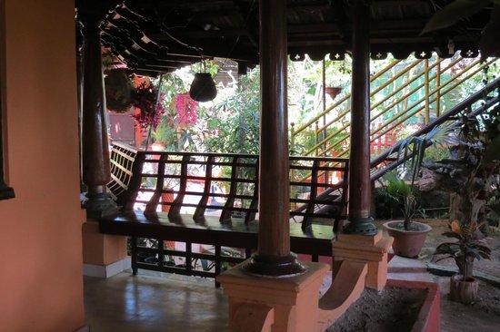 Meadow View Inn: the garden