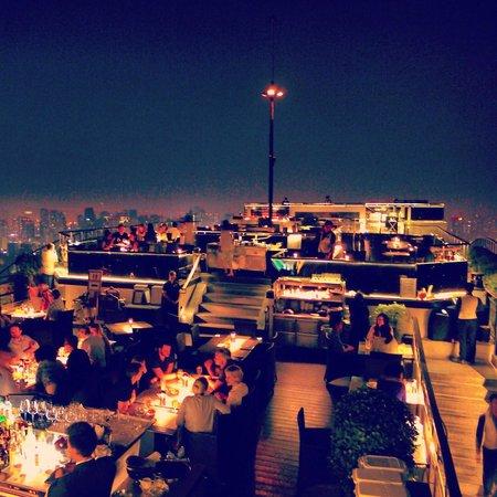 Banyan Tree Bangkok : Vertigo rooftop restaurant