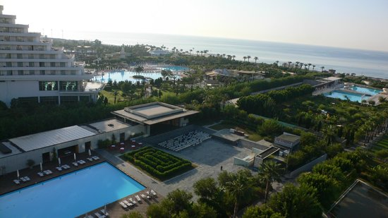 Kervansaray Lara Hotel : View from the room