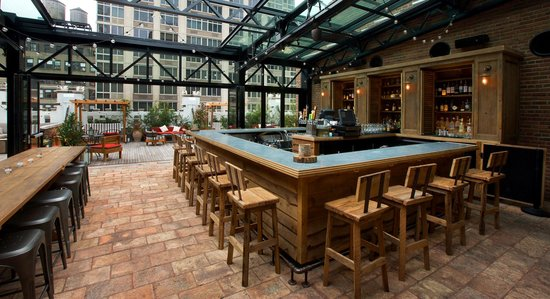 Photo of American Restaurant Rooftop At The Refinery at 63 W 38th St, New York City, NY 10018, United States