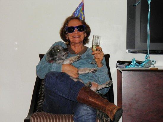 Kimpton Vero Beach Hotel & Spa: Birthday Greeting