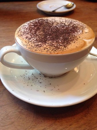 The Providores: Lovely mocha!