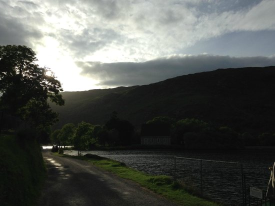 Gougane Barra Hotel: Sunset