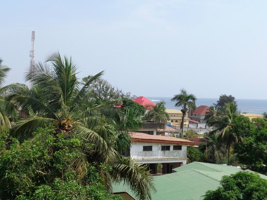 Mamba Point Hotel: View from the window