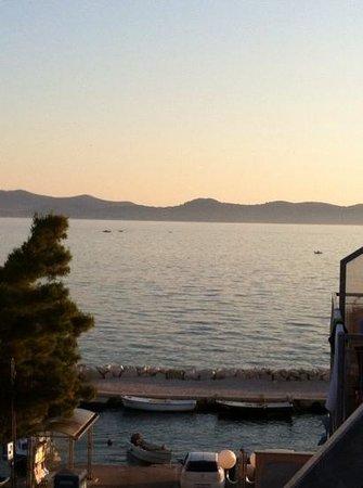 Hotel Delfin : vue depuis la chambre