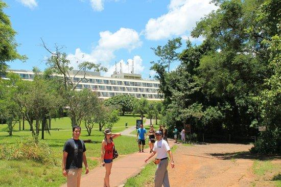 Sheraton Iguazu Resort & Spa : desde el hotel se accede a los cicuitos de las cataratas