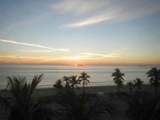 Sonesta Fort Lauderdale Beach : Sunrise
