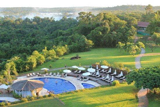 Sheraton Iguazu Resort & Spa : al fondo se ve la garganta del diablo
