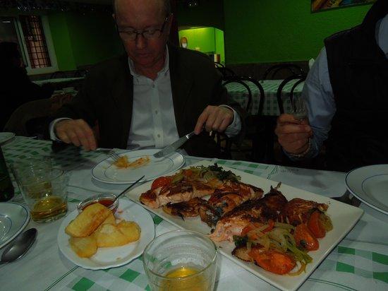 Restaurante Puerto Plata : The Salmon