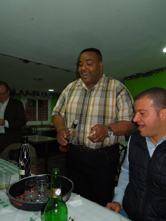Restaurante Puerto Plata : Wilson y Blas