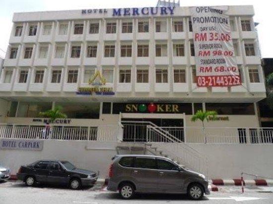 Hotel mercury road view