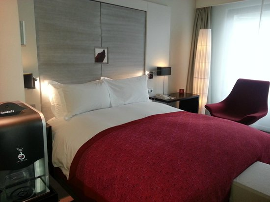 Sofitel Brussels Europe : chambre supérieure