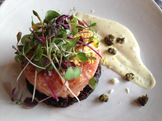 Legal C Bar: Salmon Tartare