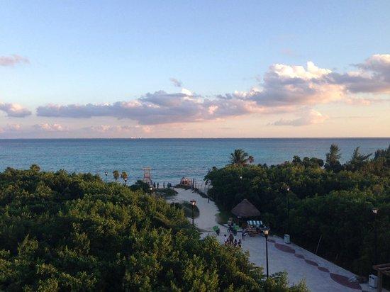Paradisus Playa del Carmen La Perla : Vue de notre chambre