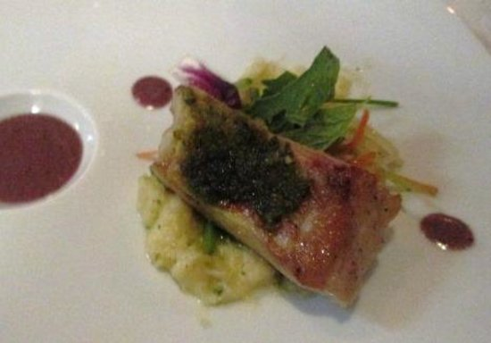 Passion By Martin Berasategui at Paradisus Punta Cana: course 4--indescribably heavenly fish
