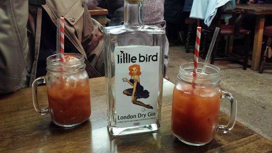 Maltby Street Market: Gin Based Bloody Marys YUM!